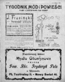 Tygodnik Mód i Powieści. Pismo ilustrowane dla kobiet 1909, Nr 50