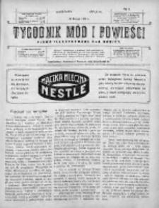 Tygodnik Mód i Powieści. Pismo ilustrowane dla kobiet 1910, Nr 9