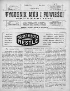 Tygodnik Mód i Powieści. Pismo ilustrowane dla kobiet 1910, Nr 23