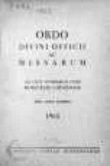 Ordo Divini Officii ac Missarum ad usum Vernerabilis Cleri Dioecesis Lodzensis pro Anno Domini 1965
