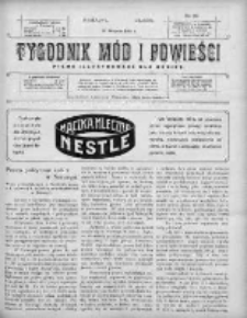 Tygodnik Mód i Powieści. Pismo ilustrowane dla kobiet 1910, Nr 34