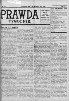 Tygodnik Prawda 2 wrzesień 1934 nr 36
