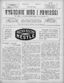 Tygodnik Mód i Powieści. Pismo ilustrowane dla kobiet 1910, Nr 38