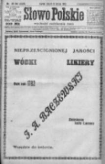 Słowo Polskie 1923, R.28, I, Nr 39