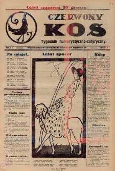 Czerwony Kos : gwiżdże co sobotę i wygwizduje wszystko 1931 nr 11