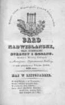 Bard Nadwislański: nad Brzegami Duransy i Rodanu: w czasie patriotycznego tułactwa Polaków, 1832, listopad, Nr 5