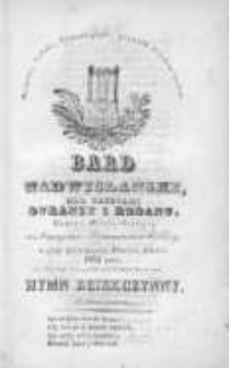 Bard Nadwislański: nad Brzegami Duransy i Rodanu: w czasie patriotycznego tułactwa Polaków, 1832, grudzień, Nr 6