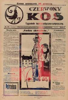 Czerwony Kos : gwiżdże co sobotę i wygwizduje wszystko 1931 nr 19