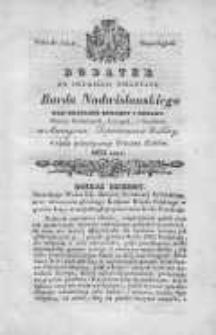 Bard Nadwislański: nad Brzegami Duransy i Rodanu: w czasie patriotycznego tułactwa Polaków, 1832, Dodatek do drugiego kwartału
