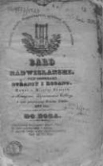 Bard Nadwislański: nad Brzegami Duransy i Rodanu: w czasie patriotycznego tułactwa Polaków, 1833, styczeń, Nr 1