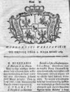 Wiadomości Warszawskie 1765, Nr 37