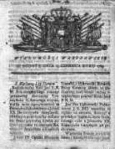 Wiadomości Warszawskie 1765, Nr 48