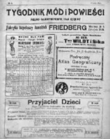 Tygodnik Mód i Powieści. Pismo ilustrowane dla kobiet 1911, Nr 5