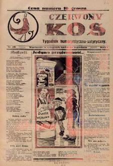 Czerwony Kos : gwiżdże co sobotę i wygwizduje wszystko 1931 nr 30