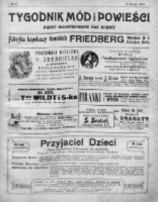 Tygodnik Mód i Powieści. Pismo ilustrowane dla kobiet 1911, Nr 11