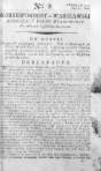 Korespondent Warszawski Donoszący Wiadomości Krajowe i Zagraniczne 1792, I, Nr 9