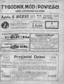 Tygodnik Mód i Powieści. Pismo ilustrowane dla kobiet 1911, Nr 16