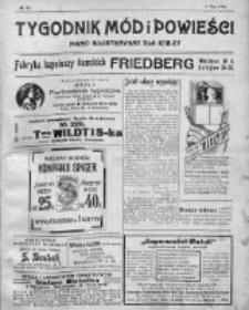 Tygodnik Mód i Powieści. Pismo ilustrowane dla kobiet 1911, Nr 19