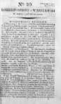 Korespondent Warszawski Donoszący Wiadomości Krajowe i Zagraniczne 1792, I, Nr 20