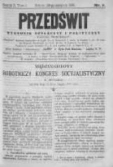 Przedświt 1891, Nr 9
