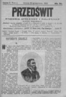 Przedświt 1892, Nr 31