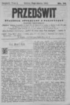 Przedświt 1892, Nr 36