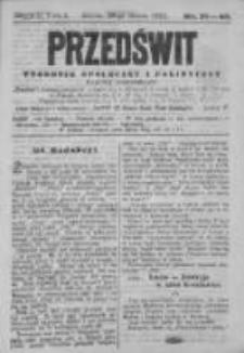 Przedświt 1892, Nr 39-40