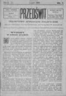 Przedświt 1893, Nr 7