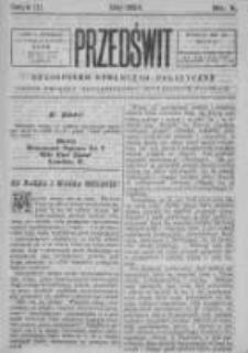 Przedświt 1894, Nr 5