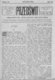 Przedświt 1894, Nr 9