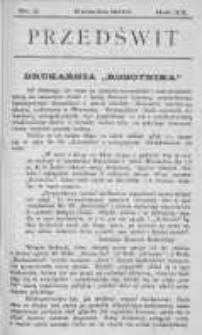 Przedświt 1900, Nr 4