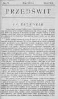 Przedświt 1900, Nr 5