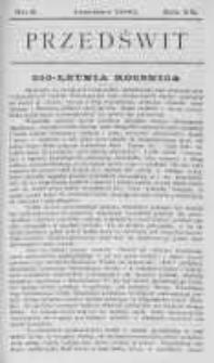 Przedświt 1900, Nr 6