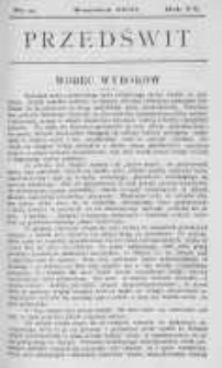 Przedświt 1900, Nr 9