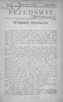 Przedświt 1901, Nr 1