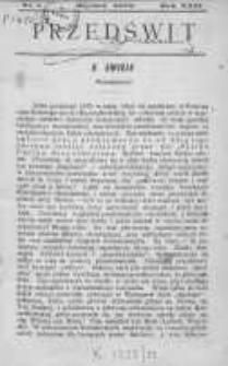 Przedświt 1902, Nr 1