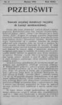 Przedświt 1903, Nr 3