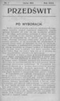 Przedświt 1903, Nr 7