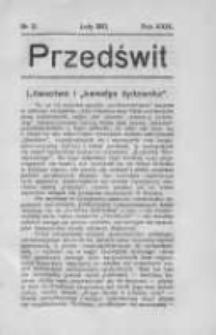 Przedświt 1910, Nr 2