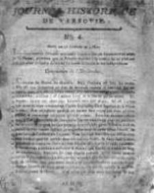 Journal Historique de Varsovie 1794, Nr 4