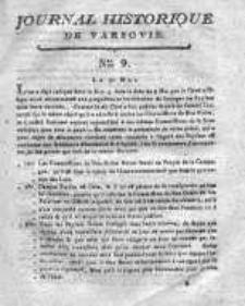 Journal Historique de Varsovie 1794, Nr 9