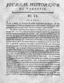 Journal Historique de Varsovie 1794, Nr 12