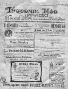 Tygodnik Mód i Powieści. Pismo ilustrowane dla kobiet 1912, Nr 1