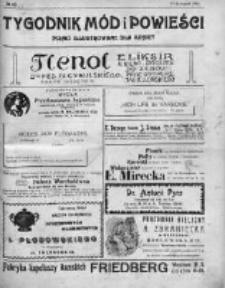 Tygodnik Mód i Powieści. Pismo ilustrowane dla kobiet 1911, Nr 47