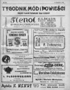 Tygodnik Mód i Powieści. Pismo ilustrowane dla kobiet 1911, Nr 50