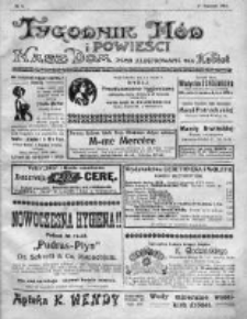 Tygodnik Mód i Powieści. Pismo ilustrowane dla kobiet 1912, Nr 4