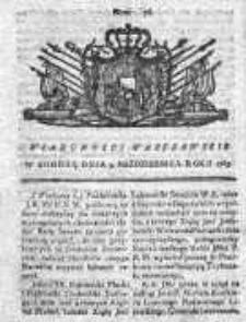 Wiadomości Warszawskie 1765, Nr 76