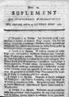 Wiadomości Warszawskie 1767, Nr 14