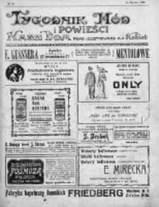 Tygodnik Mód i Powieści. Pismo ilustrowane dla kobiet 1912, Nr 11