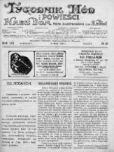 Tygodnik Mód i Powieści. Pismo ilustrowane dla kobiet 1912, Nr 13